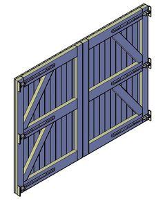 Houten poort maken