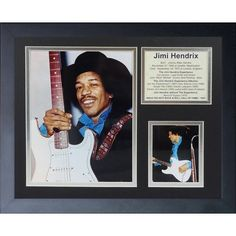 Legends Never Die Jimi Hendrix Woodstock Framed Photographic Print
