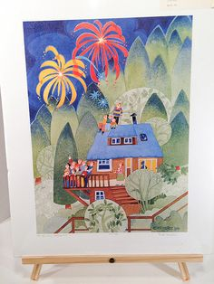 Fourth of July Starr Hill 1994 by Rie Munoz / by greenviewlane