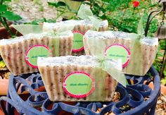 Homemade Gardeners Soap.