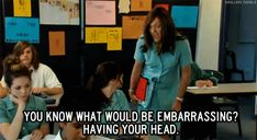 As Chris Lilley prepares to reprise the beloved Summer Heights High character in the new series Ja'mie: Private School Girl, let's take a moment to recall her words of wisdom. Summer Heights High, Chris Lilley, Private School Girl, Best Insults, Jamie King, Remember The Titans, I Love Him, My Love, Tv Quotes