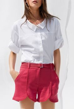 Maison Ullens 2017 Casual Shorts, Short Dresses, Women, Style, Fashion, Short Gowns, Swag, Moda, Fashion Styles