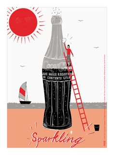 Kiss The Past Hello. Coca-Cola Design: 100 Years of the Coca-Cola Bottle. #MashupCoke by: Harriett Russell