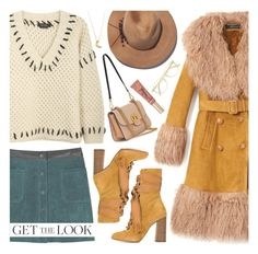 """""""Get The Look: Winter Style 7-2-2017"""" by anamarija00 ❤ liked on Polyvore featuring MANGO, Isabel Marant, Gucci, Eugenia Kim, Chloé, Ace, Too Faced Cosmetics, GetTheLook and chloe"""