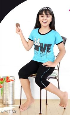 Checkout this latest Nightsuits Product Name: *Amazing Sinker Cotton Girl's Nightsuit* Sizes:  6-7 Years, 7-8 Years, 8-9 Years, 9-10 Years, 10-11 Years, 11-12 Years, 12-13 Years, 13-14 Years, 14-15 Years Easy Returns Available In Case Of Any Issue   Catalog Rating: ★4.1 (1057)  Catalog Name: Kiddeo Amazing Sinker Cotton Girls Nightsuits Vol 1 CatalogID_79217 C62-SC1158 Code: 793-701189-1401