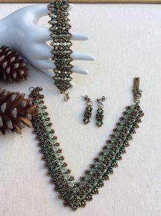 Crystal Jewellery – 1. ANASTACIA  ( Cristal  Preciosa ) – a unique product by DelikaElite on DaWanda