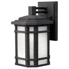 Cherry Creek Vintage Black 11 Inch One Light Fluorescent Outdoor Wall Mount Hinkley Wall M