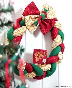 corona de navidad paso a paso