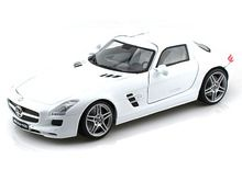 Motor Max 1/18 Scale Mercedes Benz SLS AMG Gullwing White Diecast Car Model 79162 www.DiecastAutoWorld.com 2312 W. Magnolia Blvd., Burbank, CA 91506 818-355-5744 AUTOart Bburago Movie Cars First Gear GMP ACME Greenlight Collectibles Highway 61 Die-Cast Jada Toys Kyosho M2 Machines Maisto Mattel Hot Wheels Minichamps Motor City Classics Motor Max Motorcycles New Ray Norev Norscot Planes Helicopters Police and Fire Semi Trucks Shelby Collectibles Sun Star Welly