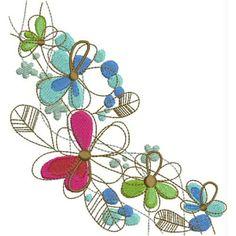 BIN Color Splash Flowers - Kreations by Kara
