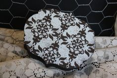 BGift Box Early Expresso with shabby blue emboss