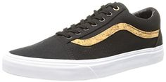 VANS UNISEX OLD SKOOL CORK TWILL SKATE SHOE 10 DM US blackcork stripe ** Click image to review more details.