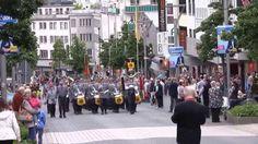 28. NATO-Musikfest - 24. Mai 2014 Parade in der Innenstadt von Mönchengl...