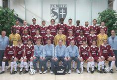 Effectif année 2003-2004 Fc Metz, Equipement Football