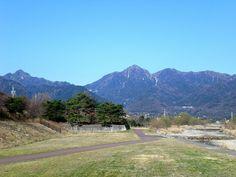 菰野町菰野地区 御在所岳、国見岳 平成25年3月22日撮影