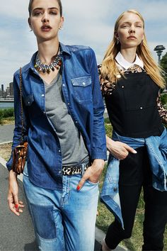 Pair perfect chambray with jeans and overalls for an extra cool look this season.