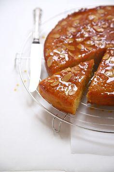 Coconut and orange Jewish cake