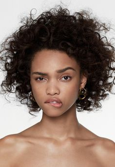 Afro Curly Medium African American Synthetic Hair Capless Women Wig 14 Inches - People Photos - Ideas of People Photos - Pretty People, Beautiful People, Curly Hair Styles, Natural Hair Styles, Natural Curls, Expressions Photography, People Poses, Face Expressions, Womens Wigs