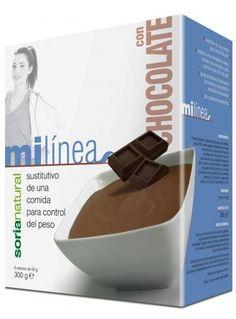 MI LINEA CHOCOLATE 300GR  SORIA NATURAL 6 X 50GR  - Castellfarma