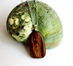 Wood Necklace Red Cedar Driftwood Pendant Eco by Hendywood on Etsy