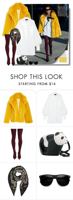"""""""Untitled #423"""" by craftsperson ❤ liked on Polyvore featuring Marni, Burberry, Balenciaga, Loewe, Roberto Cavalli, ZeroUV and fauxfur"""
