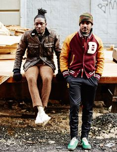 There are no men who can wear clothes better than Joshua and Travis of Street Etiquette.