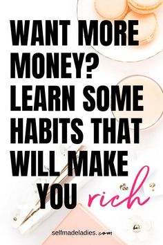 10 Habits That Will Make You Rich (Number 6 Will Surprise You) Success Mindset, Growth Mindset, Positive Mindset, Budgeting Finances, Budgeting Tips, Rich List, Creating Wealth, Way To Make Money, How To Make