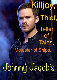 Killjoys Syfy Johnny Jaqobis Lover of ships Killjoys Tv Series, Killjoys Syfy, Sci Fi Movies, Tv Shows, Ships, My Love, Nerdy, Fan, Books