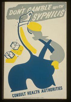 vintage everyday: 40 Hilarious Vintage STD Propaganda Posters from World War II