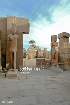 Temple of Karnak, Great Temple of A