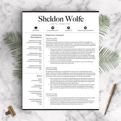 Microsoft Word Coupon Template Professional Resume Template For Word & Pages 1 2 And 3 Page .