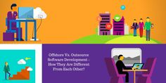 Offshore vs. Outsource Software Development – How They are Different From Each Other?