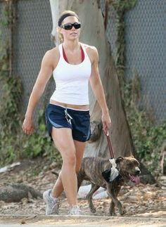 Jessica Biel - love this because she looks gorgeous even dressed in running gear!