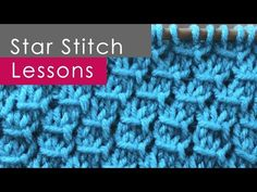 How to Knit the STAR STITCH: Easy Knitting for Beginners