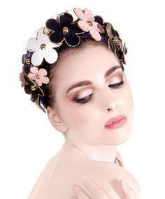 "Couture headpiece ""La Belle Époque"" created in Lallu Chic Couture Millinery atelier. www.lalluchic.com #hats #millinery #couturemillinery #lalluchic #haniabulczynska #kapelusz #modystka"