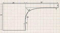 Французский шарфик (выкройка) / Простые выкройки / ВТОРАЯ УЛИЦА