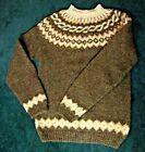 HUSFLIDEN WOOL HAND KNIT INTARSIA YOKE NORWEGIAN ICELAND SWEATER UNISEX S EUC ^ $195.00 #knitsweater #sweaterknit #woolsweater Hand Knitted Sweaters, Wool Sweaters, Knit In The Round, Jumpers, Beautiful Hands, Iceland, Hand Knitting, Men Sweater, Unisex