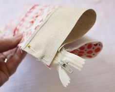 new approach on sewing on a zipper How to Make a Pencil Case | A Spoonful of Sugar