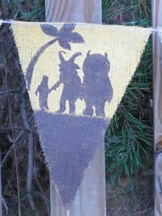 ♥Where the Wild Things Are Banner♥ Love it.