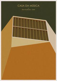 Andre Chiote an architect / illustrator living in Oporto, Portugal