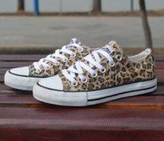 leopard print sneakers