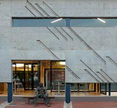 mathews and associates architects Public Architecture, Art Walls, Pretoria, Offices, South Africa, Architects, Concrete, Environment, Graphics