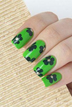 Inspiring St.Patricks Day Nail Art Designs Ideas Trends 2014 9 Inspiring St.Patricks Day Nail Art Designs, Ideas & Trends 2014