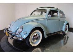 1956 VW Beetle Oval Window Mode Of Transport, Vw Bugs, Vw Beetles, Tricycle, Camper Van, Locomotive, Cool Cars, Planes, Trains