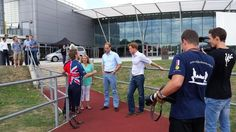 The Duke of Cambridge and Prince Harry surprise Invictus Games hopefuls with an impromptu visit to the final trial session ahead of the British Armed Forces team selection, August 5th, 2014