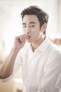 Twitter - kim soo hyun - TOUS LES JOURS CF