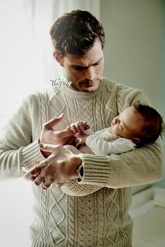 Christian, daddy is so cute ♡ Fifty Shades Freed