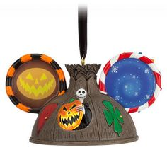 Tim Burton's The Nightmare Before Christmas Ear Hat Ornament