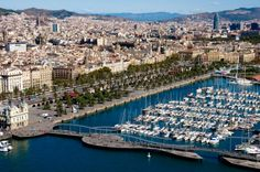 Barcelona, the capital of Catalonia and also a marvel on the Mediterranean Sea!