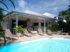 Villa Vanille Jolie villa créole indépendante avec piscine et accès direct à la mer (Réf:5155 Appartement Guadeloupe SaintFrancois)